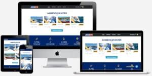 wordpress website voor boten maken