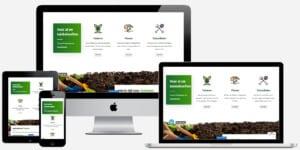Hovenier website laten maken