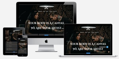 Professionele tattoo site laten maken