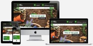 Tuinieren website laten bouwen