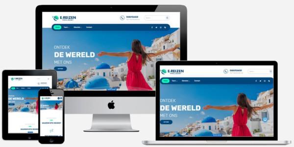 reizen website laten maken