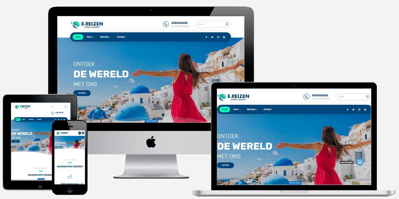Reisorganisatie website laten maken
