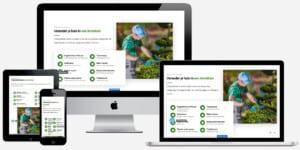 website voor tuinieren laten maken