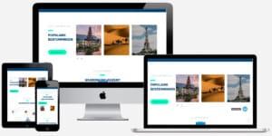 wordpress reis website laten bouwen