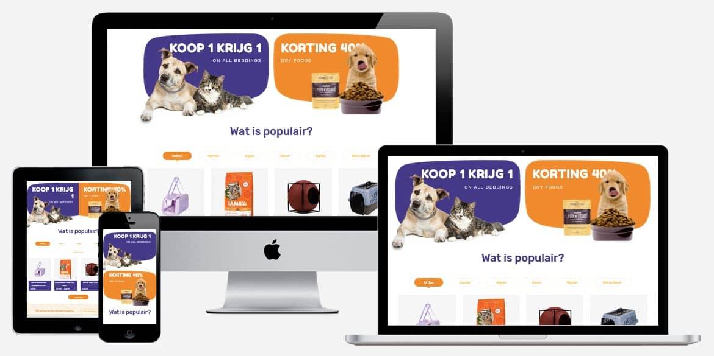 Woocommerce webshop laten maken voor huisdieren