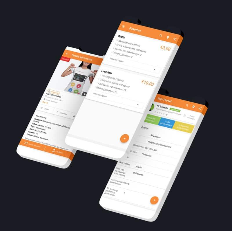 Marktplaats App Van Epicwebsite