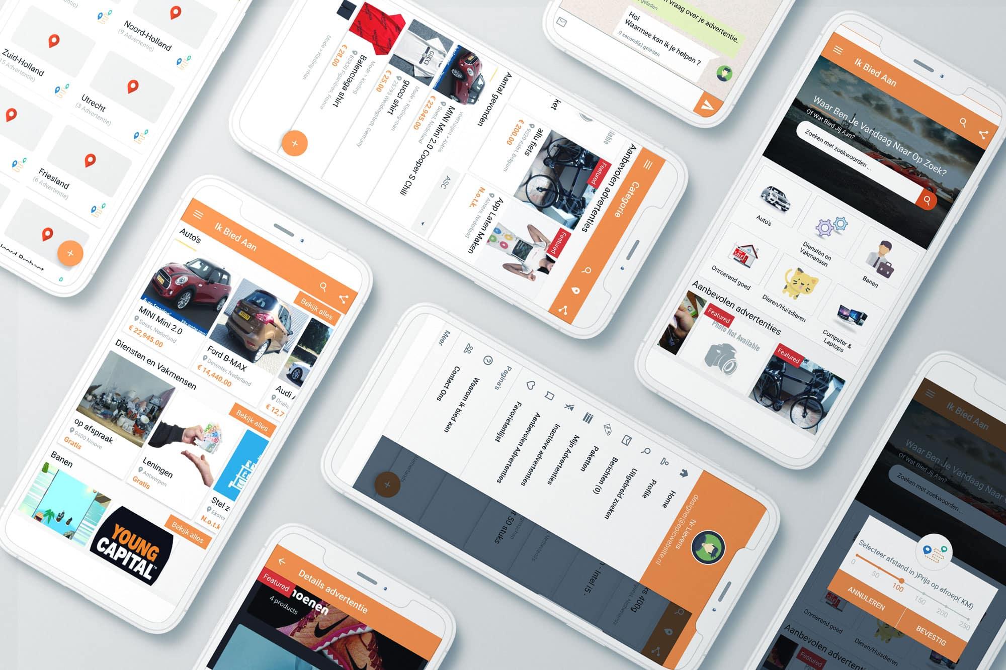 Native app ontwikkelaa voorbeeld van epicwebsite