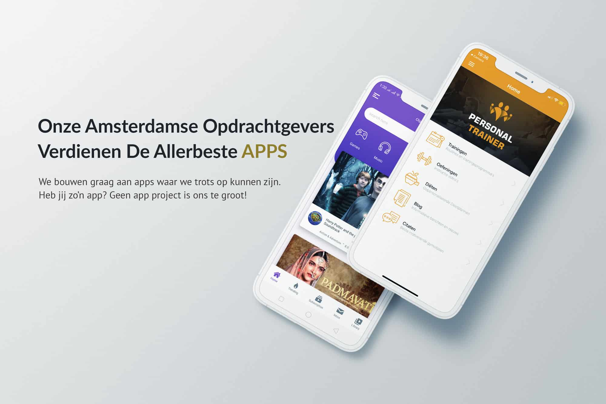 App ontwikkelaar Amsterdam