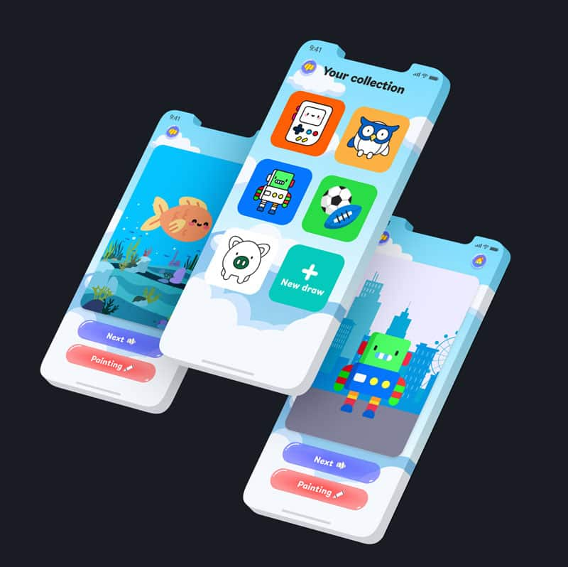 Kinder app laten maken