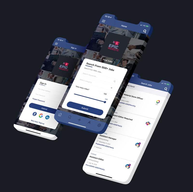 Zakelijke app laten bouwen
