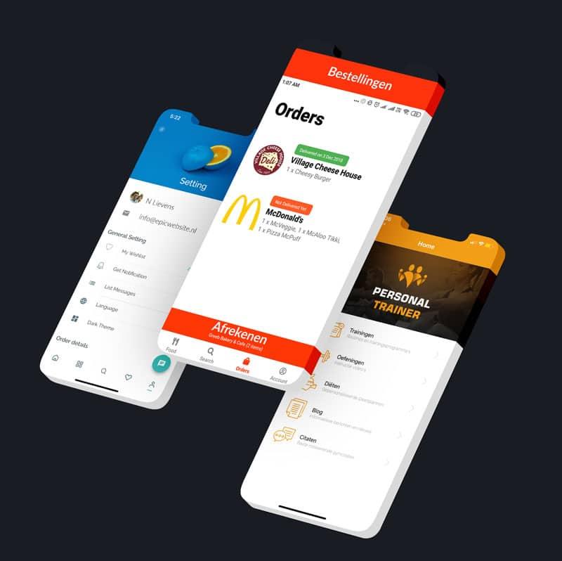 App laten maken voorbeelden