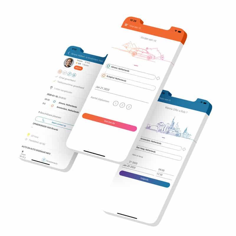Autodelen app ontwikkelaar epicwebsite