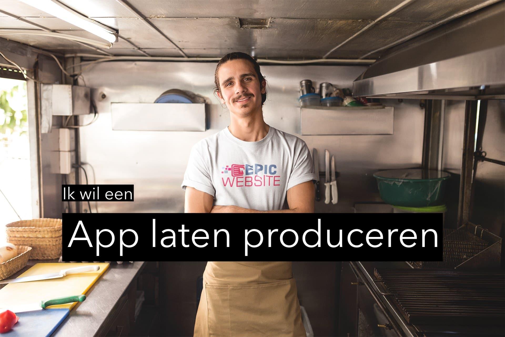 Een foto van App laten produceren