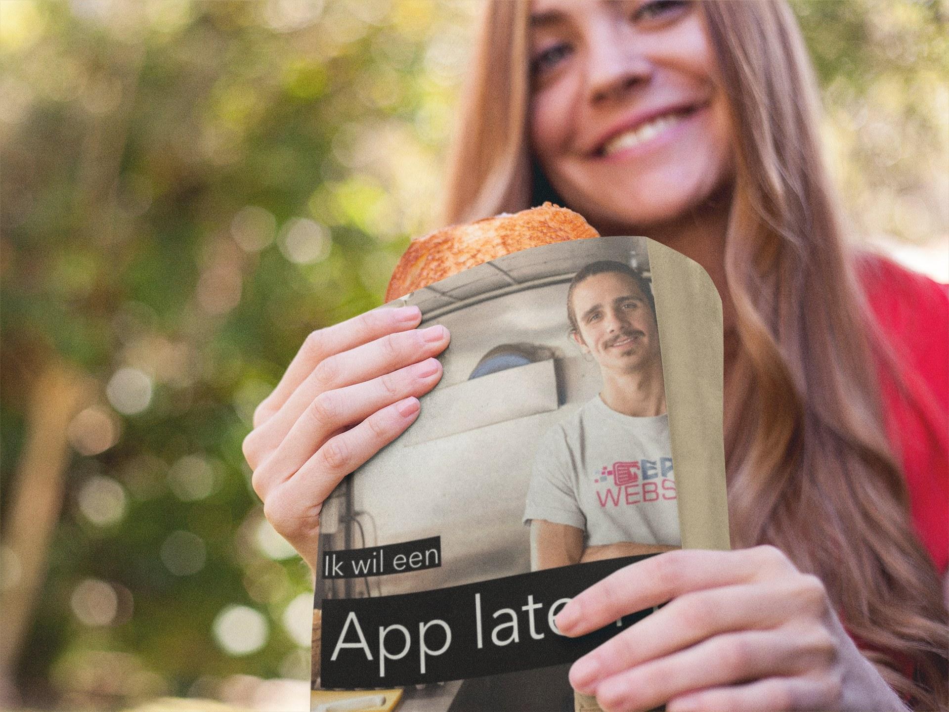 Wij maken Apps en websites voor bezorg- en afhaal restaurants