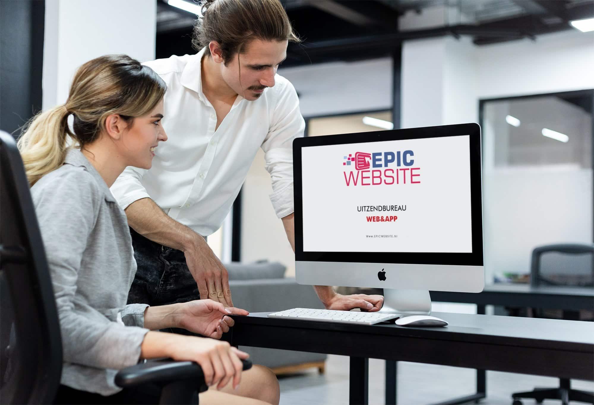 Website laten maken voor een uitzendbureau