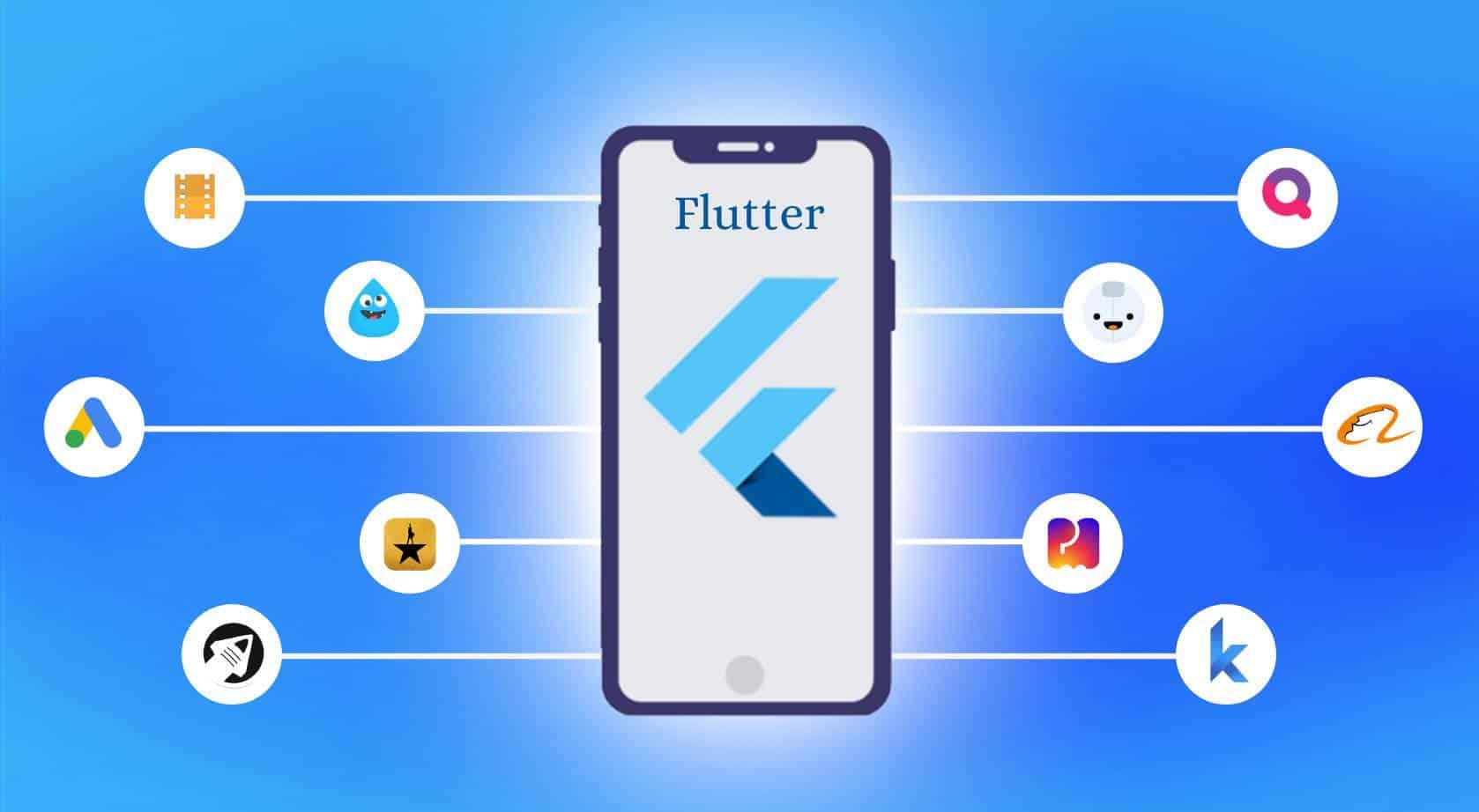 Een app maken in het framework Flutter